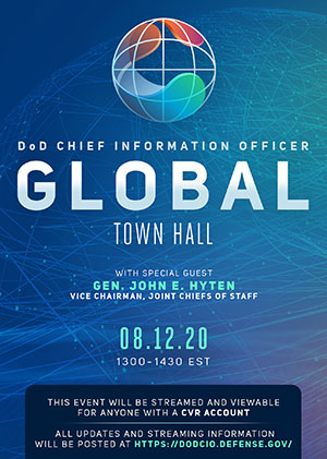 Global Town Hall Flyer